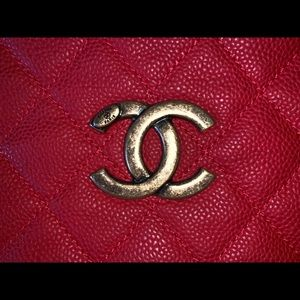 ❤️ CHANEL Country Hobo Caviar Quilted Bag Purse ❤️